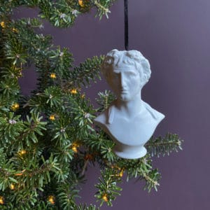 classical greek bust decoration
