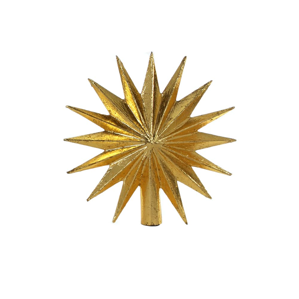 Florentine Gold Tree Topper 16 point cut out for web