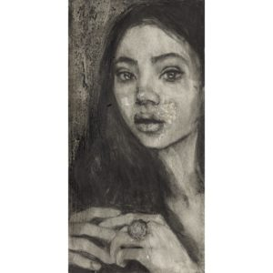 Pandora Series - 'Maria' Hand Finished Limited Edition Print