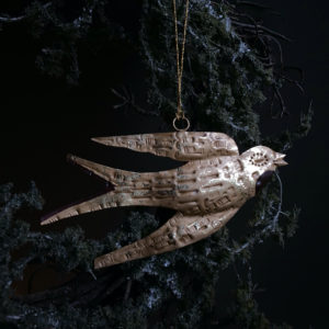 Curious Egg Magic Swallow of Hope Decoration