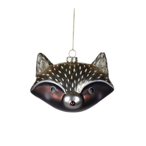 Curious Egg Rocco Racoon Decoration Christmas Tree Decoration
