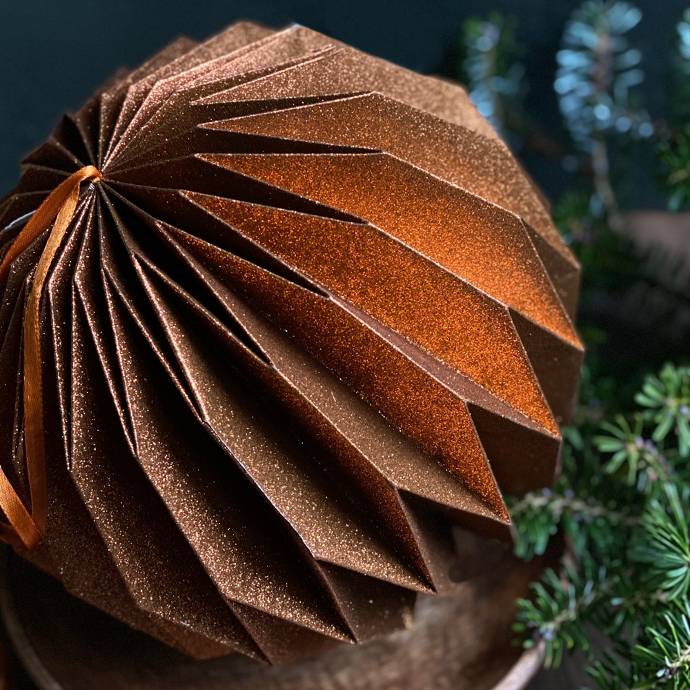 copper origami ball lifestyle for web