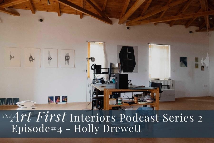 studio in Greece belonging to artist Holly Drewett