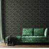 You Don't Find The Light by Avoiding the Darkness Wallpaper by Feathr in Hunters Green Colour